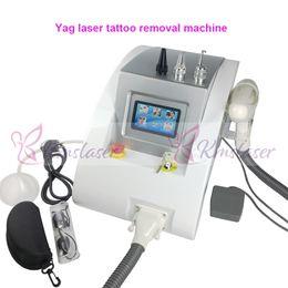 1064nm 532nm Q Switched Removedor del acné de la máquina del retiro del pigmento de la ceja del tatuaje del laser de Nd Yag desde fabricantes