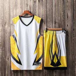 kundenspezifisches licht Rabatt New Light Board Camouflage Trikot Wettbewerb Training Basketball Anzug Set, Persönlichkeit angepasst Basketball Sets mit Shorts, benutzerdefinierte trägt
