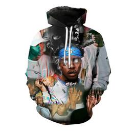 máscara de esquí collage impresión 3d sudadera con capucha camisetas / sudaderas / sudaderas con capucha / pantalones hombres harajuku divertido streetwear chándal hip hop chándal desde fabricantes