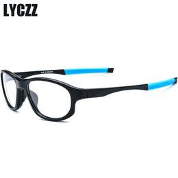 boletos completos para homens Desconto LYCZZ TR90 Antiderrapante Óculos de Armação Meninos de Basquete Miopia Óculos Quadros Completos Moda Ultraleve ao ar livre Eyewear óptico