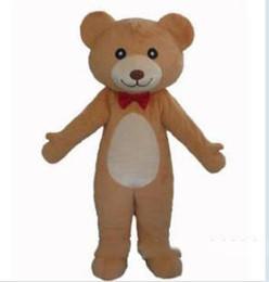 Canada 2019 haute qualité cravate rouge chaud ours en peluche costume costume ours en peluche costume de mascotte en peluche ours en peluche costume Offre
