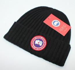 2019 New Fashion Canada uomini di marca beanie Designer Bonnet donne regalo di san Valentino Casuali cappelli a maglia cranio cappelli per capelli palla cappelli all'aperto da