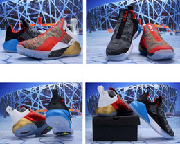 ae86057b44df What the Lebron Ambassador 11 XI basketball shoes mens for sale Christmas  BHM Oreo youth kids Generation sneakers boots original with box