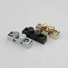Guitare tremolo bridge gold en Ligne-3pcs guitare clé Allen titulaire clé chrome noir / or tremolo ou pont ajustement