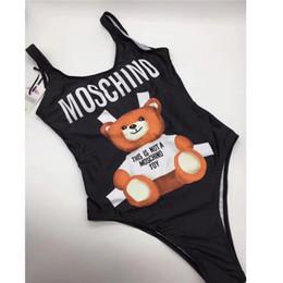 Designer MOSC Small Bear Fashion Luxury Swimwear Bikini per le donne Lettera marchio costume da bagno fasciatura Bi Quinis costume da bagno sexy da