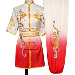 artes marciais chinesas Kungfu uniforme wushu vestuário adequar roupas changquan jogo outfit de rotina para homens, mulheres, crianças menino menina miúdos adultos de