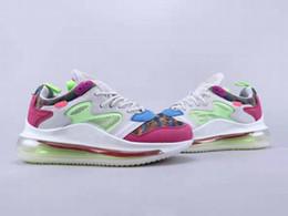 Zapatos beckham online-(Con caja) Envío gratuito OBJ Sneaker Hombres Mujeres Odell Beckham Jr. Multi-Color Hyper Pink Running Shoes