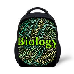 197033b24157 2019 печатные школьные принадлежности Индивидуальные биология письма тема  рюкзаки школьные сумки мальчики девочки школьные принадлежности младший