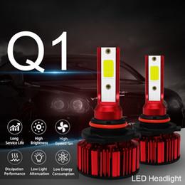 2 faros LED 6000LM / 3000LM / pieza IP68 a prueba de agua 9005 9006 H4 H7 H11 es adecuado para la mayoría de los modelos de automóviles. desde fabricantes