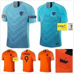 471417342 1 2018-19 Nederland soccer jersey Netherlands home away orange MEMPHIS  JERSEY ROBBEN 18 19 thai quality V.Persie Dutch football shirts