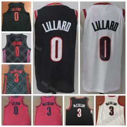 2019 City Earned Edition Damian 0 Lillard Jersey Men Sale Basketball CJ 3  McCollum Clyde 22 Drexler Ripcity Rip Red White Black Uniform e2f86e5d6