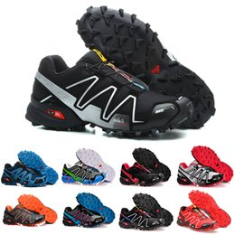 Drop Shipping Velocidade Cruz 4 IV CS preto azul orange red Sapatos Ao Ar Livre Homem Respirável Atletismo Malha Esgrima Sapatos sports sneaker de