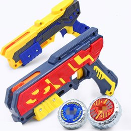 boîtes pistolet Promotion Nouveaux Launchers Beyblade Burst Jouets Magic Battle Bata Burst Magic Boxed Boxed Light Gyro 4 Gun Gun Generation Enfants Top Beyblader Y200703