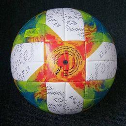 2019 чемпионский мяч Высокое качество новый 2019 лига чемпионов уЕФА футбольный мяч CONEXT 19 официальный матч мяч пу размер 5 для взрослых кожи бесплатная доставка дешево чемпионский мяч