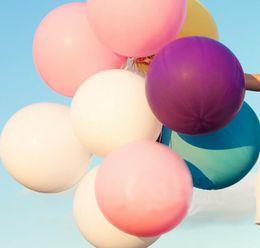 Hochzeitsdekoration Ereignisse Party Geburtstag Ballons liefert Hausgarten Strand Hochzeit Dekor Ballon neu einfarbig von Fabrikanten