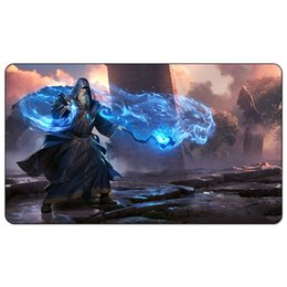 2019 carte d'instruction Jeu de plateau magique: .Wizard Overlord 60 * 35cm size Table Tapis de souris Tapis de souris Lecture Matwitch fantasy occulte