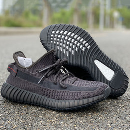 Mejores zapatos para correr online-Nuevo estilo V2 Negro Ángel Caído Zapatillas de running Mejor calidad Original Diseño de moda Hombre Mujer Zapatillas de deporte Size36-45