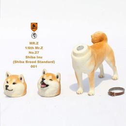 2019 figurine di alta qualità Foraway MR.Z Figurine per cani di alta qualità Shiba Inu Dog Made In China Support Drop Shipping