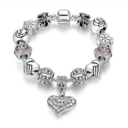estrela de mar de couro Desconto 16-21cm perla o encanto pulseira de prata 925 Pandora pulseiras para as mulheres como um presente Diy Jewelr