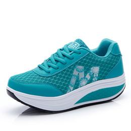 Scarpe da slittamento dimagrendo online-Zapatillas Scarpe sportive da donna per gambe snodabili e snellenti da fitness
