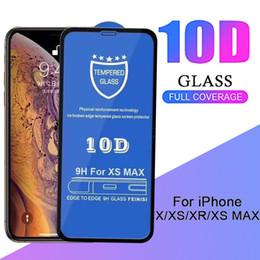 9H Dureté Protecteur D'écran 10D En Verre Trempé Hard Edge Téléphone Protecteur Antidéflagrant Film De Garde Pour iPhone XS Max XR X 8 7 6 6S Plus ? partir de fabricateur