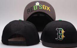 2019 en iyi kalite Snapback Kırmızı Sox Kap Ayarlanabilir B Beyzbol Şapkaları Snapbacks Strapback Yüksek Kalite NY Spor kap erkek k ... nereden ny kırmızı kep tedarikçiler