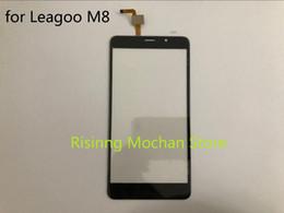 M8 telefono movil online-EN STOCK ! para Leagoo M8 Panel frontal Sensor de pantalla táctil Pantalla de cristal del teléfono móvil Reemplazo del digitalizador 5.7 pantalla táctil
