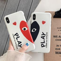 capas de telefone de amor atacado Desconto Wholesale TPU phone case moda para iphone 6s 7 8 p x xs amor forma designer telefone tampa traseira para presentes