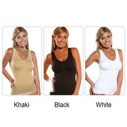 6422a5606a Amazing 2019 Body Slim Up Shaper Lift Plus With Bra Removable Tank Top Women  Underwear Slimming Summer Vest Corset Shape Size S M L XL XXL