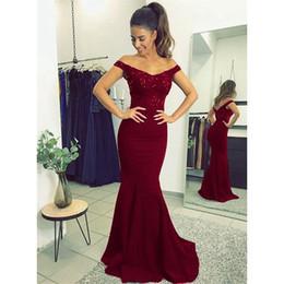 2019 zarif v yaka bordo, kırmızı, siyah, mavi elbiseler, balo için uzun elbiseler, el yapımı ile açık arka dantel Abiye cheap open back prom dresses black red nereden açık arka balo elbiseleri siyah kırmızı tedarikçiler