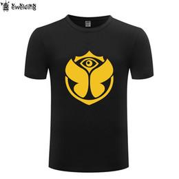 Musique électronique Tomorrowland Hommes T Shirt Hip Hop T Shirts Hommes Coton À Manches Courtes Mâle Tshirt Streetwear Tee Shirt Homme Drôle ? partir de fabricateur