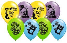 Украшение фестиваля День рождения 12 дюймовый цветной воздушный шар натуральный латекс фотография реквизит детский день Рождественская ночь крепости от