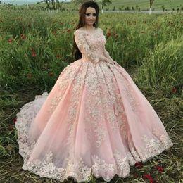 2019 pétalas de flores vestido New Sweet 16 Rosa Quinceanera Vestidos 2019 Vestido de Baile Fora Do Ombro Apliques de Flores de Pétala Prom Vestido de Noite Vestidos vestido de 15 anos BC2114 desconto pétalas de flores vestido