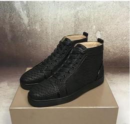belle scarpe da donna Sconti Luxury Fashion Shoe delle donne degli uomini rosso di alta qualità inferiore Designer Sneakers Nizza amanti paillettes Trainer Leather Shoes appartamenti casuali m189601