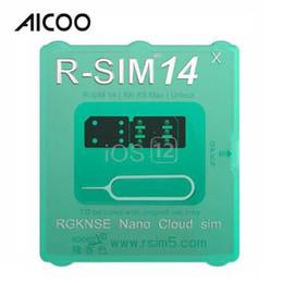 2019 разблокировать iphone t mobile AICOO R-sim14 X Ultra ICCID Совместимая универсальная SIM-карта для разблокировки R-SIM 14 для iPhone XS Max XR OPP