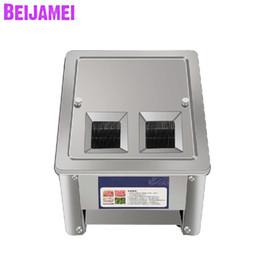 BEIJAMEI Фабрика Электрический Свежее Мясо Slicer Измельчитель Машина Коммерческое Мясорезка Dicer 220 В от