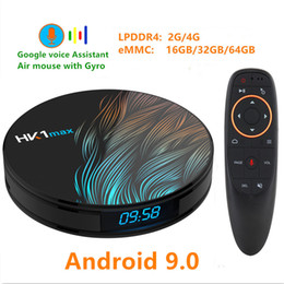CC1 MAX RK3318 Android 9.0 TV BOX 4K Youtube Google assistant 4G 64G 3D vidéo TV récepteur Wifi Play Store Smart Set top Box TV ? partir de fabricateur