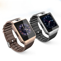 Dz09 bluetooth smart watch smartwatch para apple samsung ios android telefone celular 1,56 polegadas de