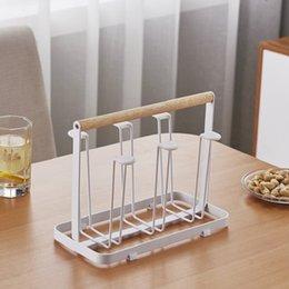 Multiple Hooks Art Coffee Cup Rack Glass Tea Organizer Marc Holder Kitchen Storage Organization