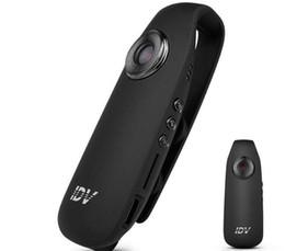 2019 alarma dvr de red 2019- cámara mini cámara IDV007 HD 1080P mini DV cámara de la rociada Cam usable Cuerpo de bicicletas H.264 videocámara micro