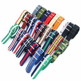 Горячие продажи НАТО мода нейлон часы ремешок ремешок нейлон ткачество для DW часы Оптовая Часы Аксессуары водонепроницаемый от Поставщики алюминиевый