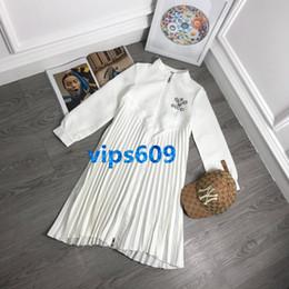 Deutschland Frauen Casual Kleider Lose Langarm T-shirt Kleid Mode Sexy Badmintonschläger mit Brief Stickerei Print Shirt Kleid cheap badminton t shirt print Versorgung