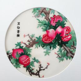 Pittura di seta del ricamo online-Ricamo di seta cinese etnico del ricamo a mano doppio modello 20cm di uso rotondo per l'abbigliamento della mano che dipinge gli ornamenti della decorazione della pittura ecc