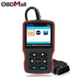 CREADOR C502 OBD 2 Lector de código del explorador automático para Mercedes Benz W211 W203 W124 OBD 2 coches Herramienta de diagnóstico del escáner de diagnóstico del escáner de diagnóstico desde fabricantes