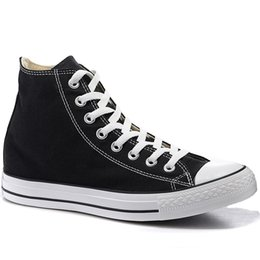 2019 tops de lona clásicos Converse A estrenar 12 colores, estrella de los años 70, todo alto, bajo, superior, clásico, zapatos de lona, zapatillas de deporte de skate, para hombre, mujer, zapatos casuales, de tamaño 35-44 tops de lona clásicos baratos