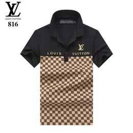 camiseta nuevo patrón Rebajas T Camiseta Nuevo patrón Moda de ocio clásico Algodón Camisa delgada camiseta Diseño por encargo