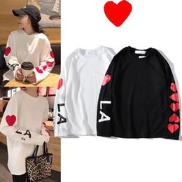 2019 homens, engraçados Homens marca de moda Hoodies Designer Mens camisola camisola das mulheres com engraçados Emoji Corações manga comprida Hip Hop Streetwear tamanho M-2XL homens, engraçados barato