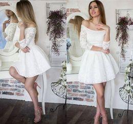 Buy Short Dress Elegant Size White Wholesale Group Party Plus F1u3TKJc5l