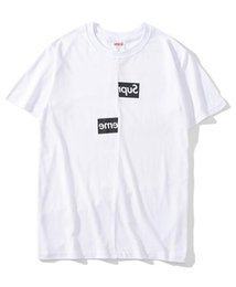 6d0bf068df45 summer Brand mem T shirts Box Logo X des Tee Street Skateboard Fashion  cotton Short Sleeved Casual top Tees Mens Clothing M-2XL affordable brand x  t shirts