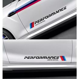 adesivi mini porta Sconti M PRESTAZIONI Adesivo per porta auto Adesivo per veicolo Testa coda Adesivo per BMW Mini Cooper Adesivi per specchietto retrovisore